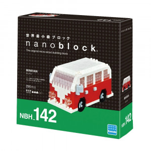 Nanoblock Mini Van Packaging