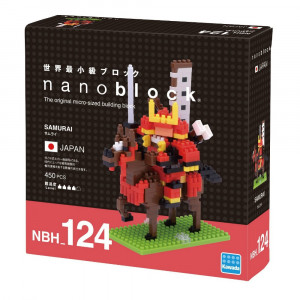 Nanoblock Samouraï Packaging