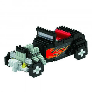 Nanoblock Voiture Hot Rod Décapotable
