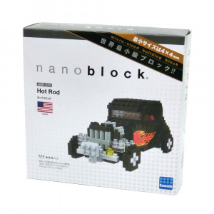 Nanoblock Voiture Hot Rod Packaging
