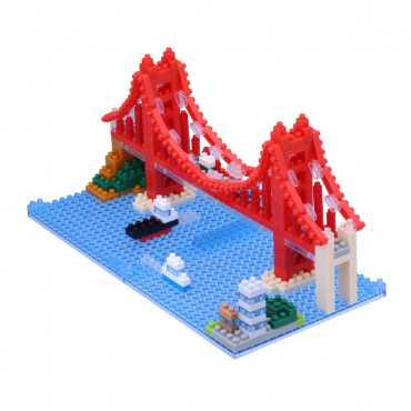 Nanoblock Pont du Golden Gate