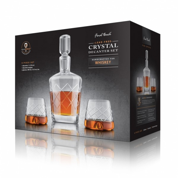 coffret service whisky cristal cadeau maestro. Black Bedroom Furniture Sets. Home Design Ideas