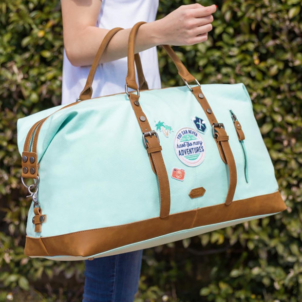 """Sac de Week-End """"You can never have too many adventures"""""""