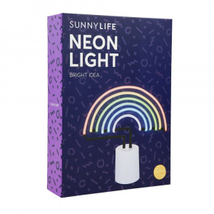 Lampe Néon Arc-en-Ciel Packaging