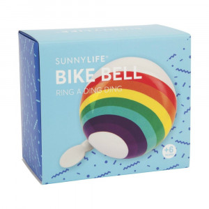 Sonnette de Vélo Arc-en-Ciel Packaging