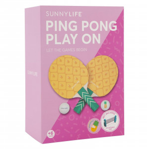 Set de Ping Pong Ananas Packaging