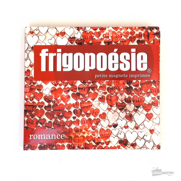 Magnets Frigopoésie Romance Couverture