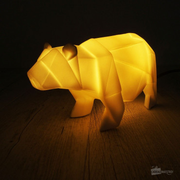 Lampe Ours Blanc