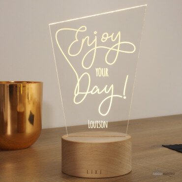 Lampe Lixi Enjoy Your Day À Personnaliser