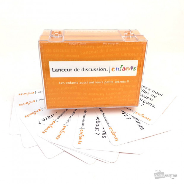 Lanceur de Discussion Enfants 110 Questions Amusantes