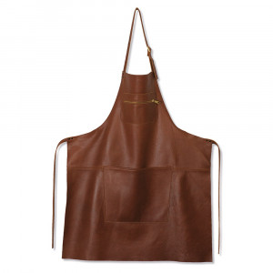 Tablier en Cuir Marron