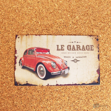 Plaque de Porte Le Garage