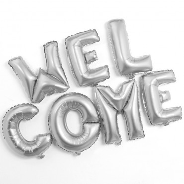 "Message Gonflable ""Welcome"""