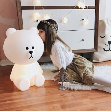 Lampe Ours Brown XL