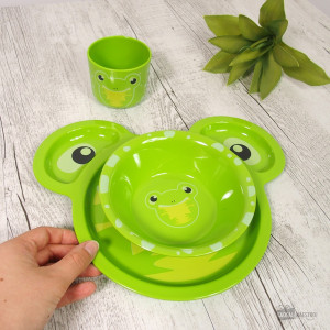 Ensemble de Couverts Grenouille