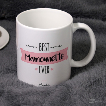 "Mug ""Best Mamounette Ever"""