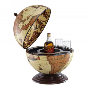 Globe Bar Safari 40cm Étonnant
