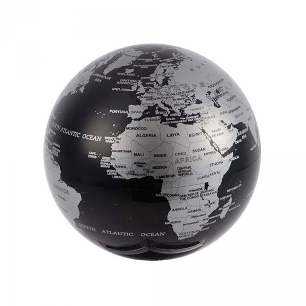 globe terrestre rotatif noir cadeau maestro. Black Bedroom Furniture Sets. Home Design Ideas