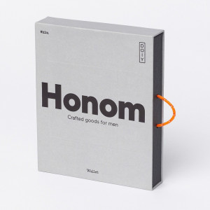 Portefeuille Cuir Honom Packaging