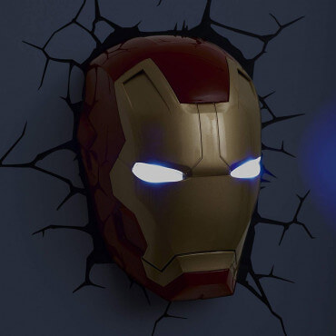 Applique Murale Iron Man 3D