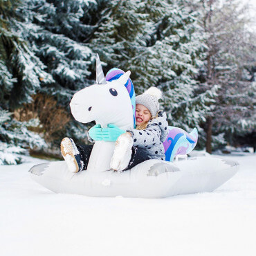 Luge Gonflable Licorne