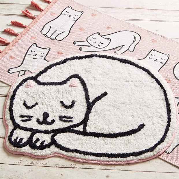 Tapis Chat Kawaii