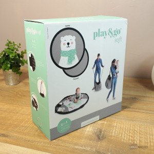 Sac Tapis de Jeu Play and Go Ours Polaire Packaging