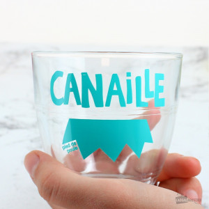 """Verre """"Canaille"""""""