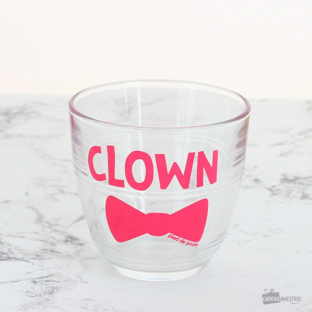 "Verre ""Clown"""