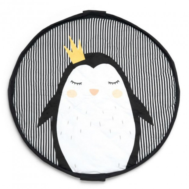 Sac Tapis de Jeu Play and Go Pingouin 120 cm de Diamêtre