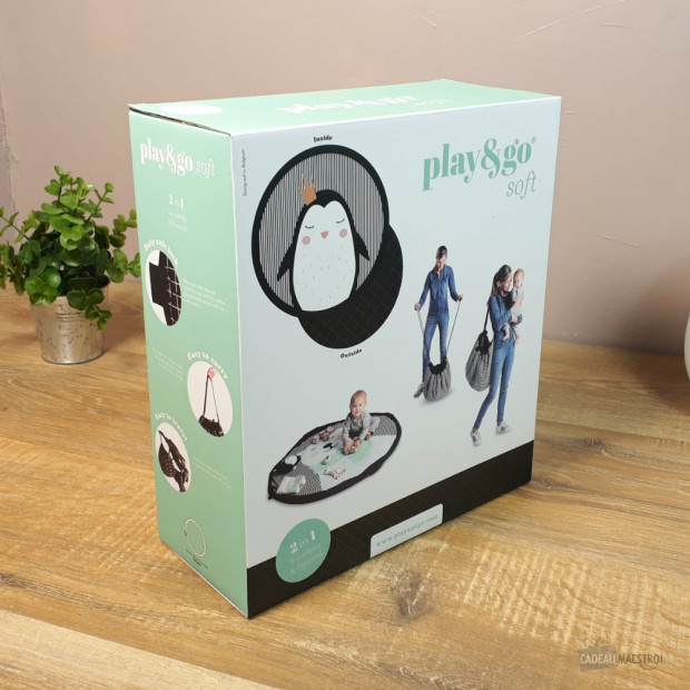 Sac Tapis de Jeu Play and Go Pingouin Packaging