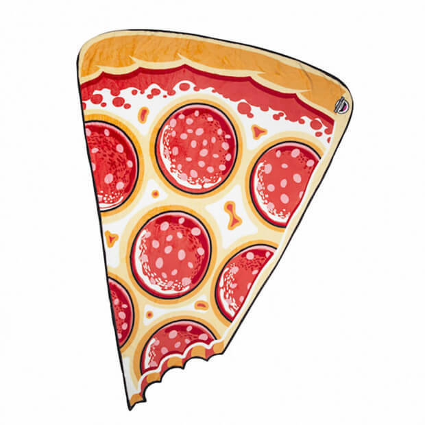 Couverture Ultra Douce Pizza