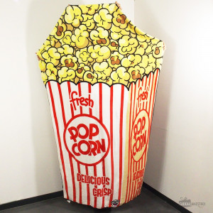 Couverture Ultra Douce Pop-Corn