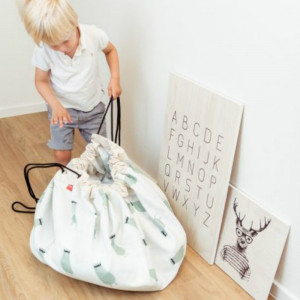 Sac Tapis de Jeu Play and Go Petit Train Transport