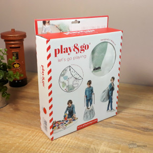 Sac Tapis de Jeu Play and Go Petit Train Packaging