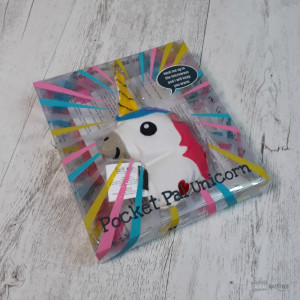 Chaufferette de Poche Licorne Micro-Ondable Packaging