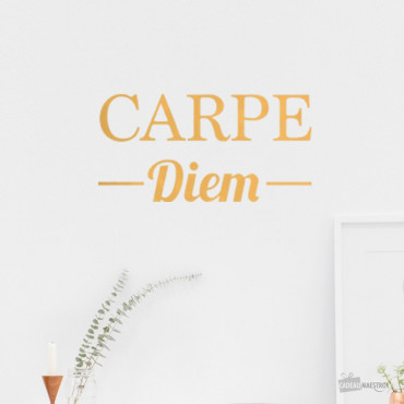 Sticker « Carpe Diem »