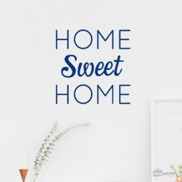 "Sticker ""Home Sweet Home"""