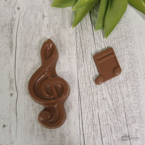 Notes de Musique en Chocolat (x2)