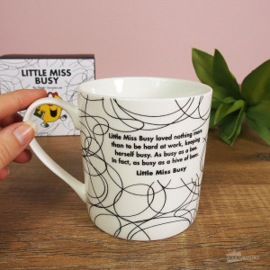 Mug Little Miss Busy (Madame Boulot)