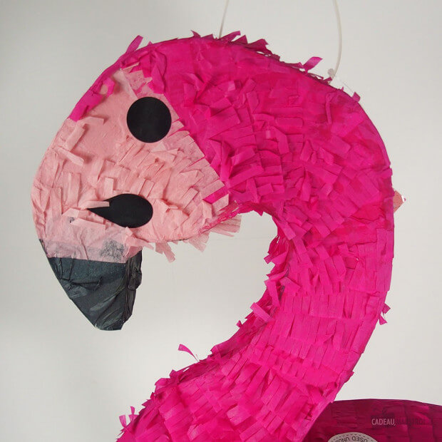 Piñata Flamant Rose