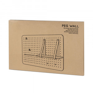 Tableau Multi-Usage Peg Wall