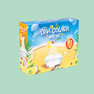 Coffret Bain Cocktail Piña Colada