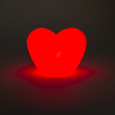 Coeur Lumineux Rouge