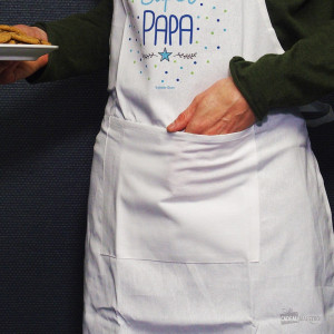 "Tablier de Cuisine ""Super Papa"""