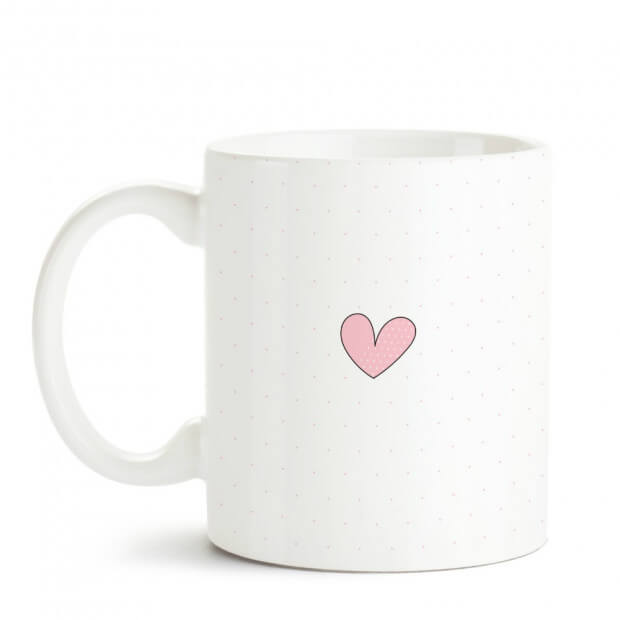 """Mug """"Mamie d'Amour pour Toujours"""" Love Forever"""