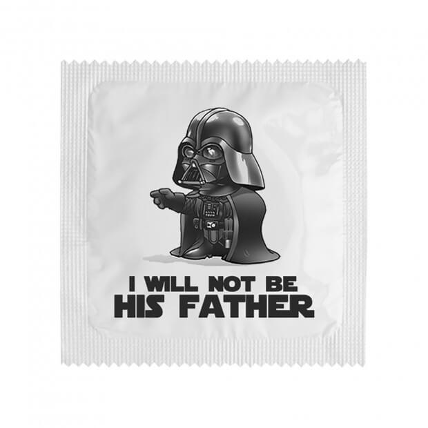 Préservatif I Will Not Be His Father