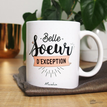 "Mug ""Belle Soeur d'Exception"""