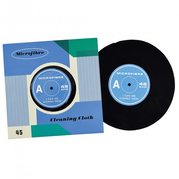 """Disque Vinyle en Microfibre """"I Can See Clearly Now"""""""