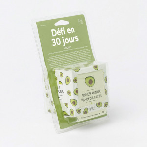 30 Jours de Défis Végan Packaging